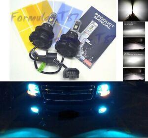 LED Kit X3 50W 9008 H13 8000K Icy Blue Head Light Two Bulbs High Low Beam Lamp