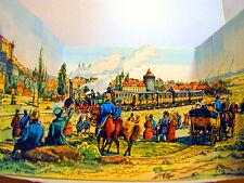 Die erste Eisenbahn 1835 Nürnberg-Fürth Nostalgisches Guckkästchen Diorama