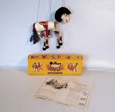 Vintage Pelham Puppet Marionette Horse & Box