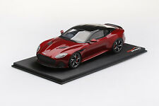 TS0266 - 1/18 ASTON MARTIN DBS SUPPERLEGGERA HYPERRED (RESIN)
