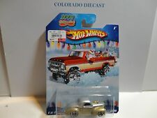 Hot Wheels 2009 Holiday Rods Gold Custom '41 Willy's Coupe w/Real Riders