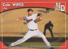 2016 High Desert Mavericks Cole Wiper RC Rookie Texas Rangers