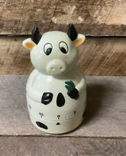 Super Cute COW Vintage Kitchen Timer ~ 60 Minute ~