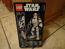 2015 LEGO STAR WARS--CLONE COMMANDER CODY FIGURE (NEW) 75108