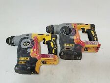 Lot Of 2 Dewalt Dch273 20v Max Xr Sds Rotary Hammers For Parts Or Repair