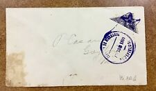 {Bj stamps} 1899 Nicaragua Bisect  10ct 1898 issue Mi102 Cover from Bluefields