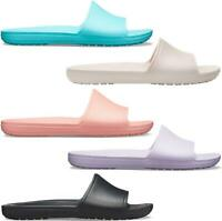 Crocs 205742 SLOANE SLIDE Ladies Beach Pool Lightweight Comfort Slide Sandals