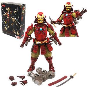 Samurai Iron Man MK-3 Ninja 7'' Action Figure Model Toy InBox Marvel Koutetsu