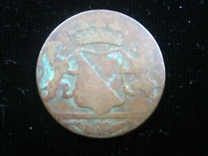 Netherlands East Indies 1 Duit 1790 VOC Dutch Indonesia Sharp 6728# Money Coin