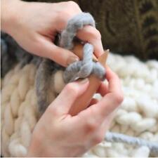 Giant Wood 20mm Crochet Hook Circular Knitting Needles For Chunky Bulky Yarn FI