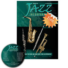 Jazz Incorporated Vol 1 for Flute Book CD Sheet Music Kerin Bailey