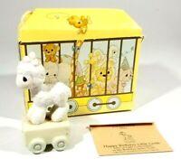Precious Moments Birthday Train Series Age 1 Happy Birthday Little Lamb