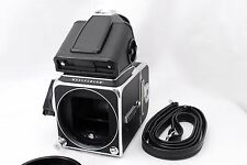 [Near MINT] Hasselblad 500 CM C/M Body w/PME Finder + A12 Film Back From Japan