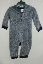 Gymboree Baby Boy One Piece Pant Outfit with Hood - Size 12-18 Months - Blue