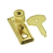 Finestra dimora / latch pin di sicurezza in ottone con chiave (bh274)