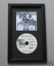 REVOLVER The Beatles FRAMED CD Disc Memorabilia Presentation