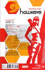HAWKEYE (2012) #16 New Bagged