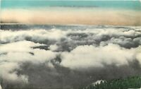 DB CA Postcard I125 Above the Clouds Mt Lowe California Back has Graphics