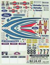 Colorado Decals 1/24 FORD FOCUS WRC '99 Rally Australia & Rally Great Britain