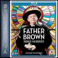 FATHER BROWN COMPLETE SERIES 1 2 3 4 5 6 7 & 8  *BRAND NEW BLU-RAY BOXSET