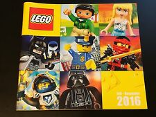 Catalogo LEGO Juli Dezember 2016 – German Catalog Deutsch