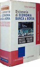 DIZIONARIO DI ECONOMIA BANCA & BORSA INGLESE ITALIANO Codeluppi