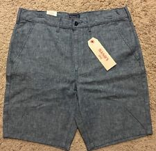 NWT Men Levis Chino Straight Light Blue Shorts Size 40 MSRP $50