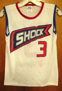 DETROIT SHOCK basketball jersey Wendy Palmer #3 youth lrg 2000 size 14-16 WNBA