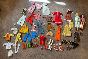 VTG Mod Barbie Clone Mego Maddie Mod Shillman Dolls Fashion Clothing Shoes Lot
