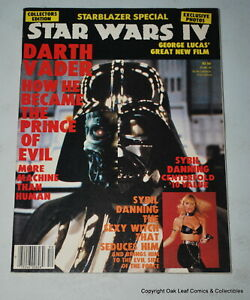 STARBLAZER SPECIAL Star Wars IV 1985 Magazine Darth Vader Star Trek MORE!