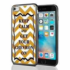 Orange Keep Calm and Get Your Chevron For Iphone 7 & Iphone 8 Case Cover