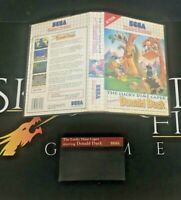 The Lucky Dime Caper Starring Donald Duck - SEGA Master System Game - UK PAL