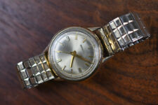 Vintage BULOVA ACCUTRON 214 Gold Filled Men's Watch JC Champion Band