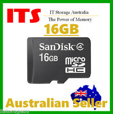 SanDisk 16GB Micro SDHC Memory Cards, Class 4