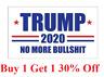 strip Trump 2020 President Donald trump Make America Great 3x5 Ft Flag US