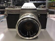 TOPCON UNIREX Reflex Analogica + Topcor 50mm f2 UV Tenuta Molto Bene AAAA++