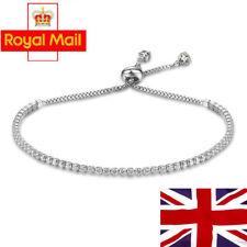 Women Fashion Rhinestone Crystal Bracelet Adjustable Bangle Cuff Jewelry Gift