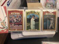 1972 Topps 12 Card Holiday Design Baseball Rack Pack...Carl Yastrzemski