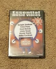 Essential Music Videos - All American Country (DVD, 2004)  NEW