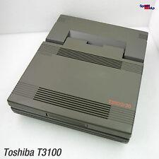 Toshiba t3100/20 pa7038e sistema Unit CASE CARCASA portátil 286 cover tapa ok!