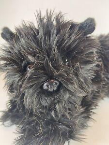 Aurora Wizard Of Oz Toto Black Terrier Dog Plush Stuffed Animal Toy