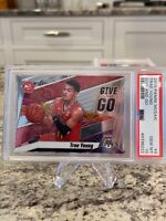 2019 Mosaic TRAE YOUNG Give and Go #4 Hawks 724 PSA 10 LOT OF 2 INVEST HOT
