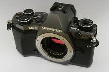 Olympus OM-D e-m5 mark ii cuerpo/body usado Titanium Edition 14283 activaciones.