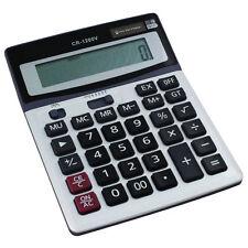 Calculadora De Sobremesa Jumbo Botones Grandes Solar De Escritorio Batería Casa Escuela Oficina