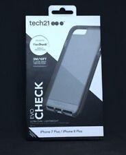 #108 tech21 Evo Check Case cover for iPhone 7+ 8+ Plus Smokey/Black NEW
