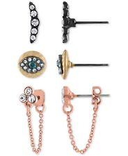 Women's Earrings Rachel Rachel Roy Tri-Tone 3-Pc. Set Drop & Stud Earrings