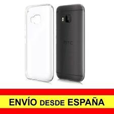 Funda Silicona para HTC ONE M9 Carcasa Transparente TPU ¡ESPAÑA! a2236