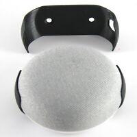 Google Home Mini Deckenhalterung  Wandhalter Schutz  Befestigung Case Schwarz
