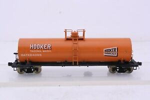 Precision Scale Co. Brass HO Scale Hooker Chemicals 12K Gallon Tank Car