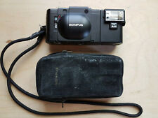Olympus XA 35 mm F2.8 Lens Compact Film Camera w/ A11 Flash & Case